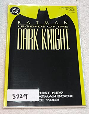 Batman: Legends of the Dark Knight Shaman Collector's Special #1 (First Solo Batman Book Since...