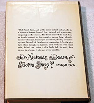 Do Androids Dream Of Electric Sheep?: Philip K. Dick