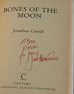 Bones of the Moon (Inscribed): Jonathan Carroll
