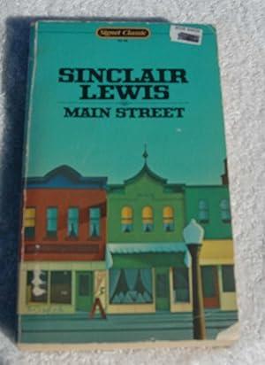 Main Street: Sinclair Lewis