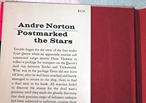 Postmarked the Stars: Norton, Andre (pseudonym of Mary Alice Norton)
