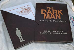 The Dark Man Artwork Portfolio (Signed/Limited): King, Stephen; Glenn Chadbourne
