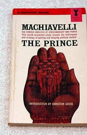 The Prince: Machiavelli, Niccolo; Donno,