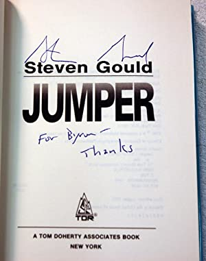Jumper (First Edition-first printing signed): Gould, Steven