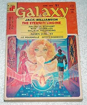 GALAXY Science Fiction: June 1975: Jack Williamson; Greg