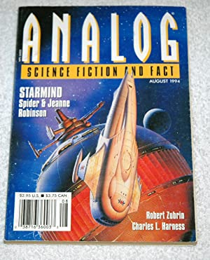 Analog Science Fiction And Fact August 1994: Spider & Jeanne