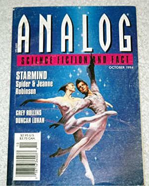 Analog Science Fiction And Fact - October: Spider & Jeanne