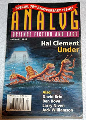 ANALOG Science Fiction and Fact: January, Jan.: Hal Clement; James