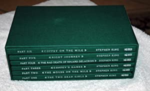 The Green Mile (Slipcased 6-volume Edition): King, Stephen