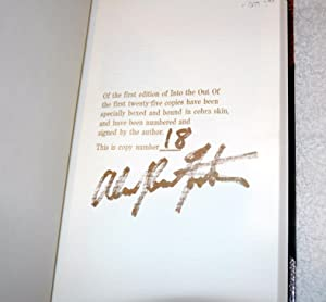 Into the Out Of (Signed/Lmtd/Bound in Cobra Skin): Alan Dean Foster