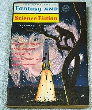 The Magazine of Fantasy and Science Fiction--February: Matheson, Richard; Aandahl,