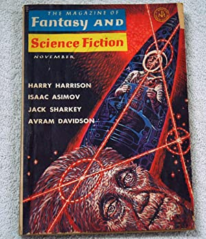 The Magazine of Fantasy and Science Fiction--November: Tom Purdom; Dick