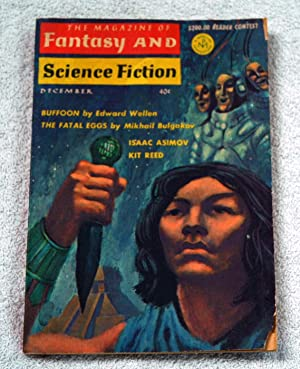 The Magazine of FANTASY AND SCIENCE FICTION: Edward Wellen; R.