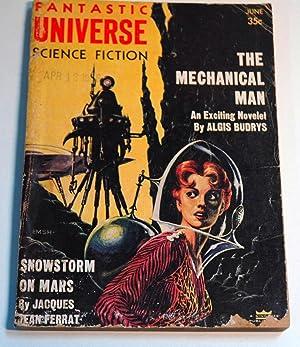 Fantastic Universe Science Fiction June 1956: Algis Budrys; Sidney