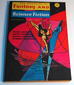 The Magazine of FANTASY AND SCIENCE FICTION: Christopher Priest; Keith