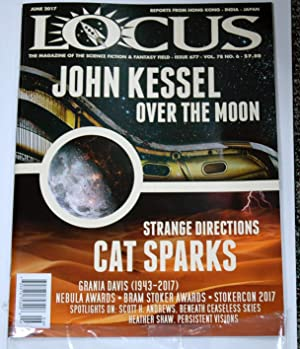Locus (The Magazine of the Science Fiction: Kessel, Cat Sparks