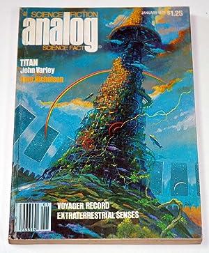 ANALOG Science Fiction/ Science Fact: January, Jan.: John Varley; Sam