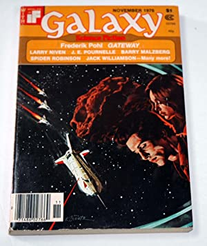 "GALAXY Science Fiction: November, Nov. 1976 (""Gateway""): Frederik Pohl; Larry"