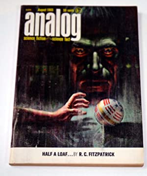 ANALOG Science Fiction/ Science Fact: August, Aug.: R. C. FitzPatrick;