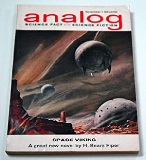 Analog Science Fact, Science Fiction, November 1962: H. Beam Piper;