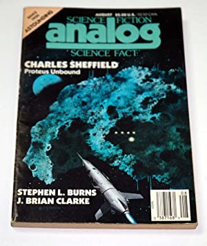 ANALOG Science Fiction/ Science Fact: August, Aug.: Charles Sheffield; Stephen