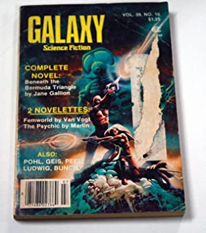 """GALAXY Science Fiction: June/July 1979 (""""Jem""""): A. E. van"""