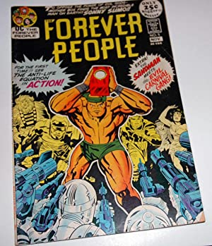 Forever People #5 Nov 1971 Bronze Age: Kirby