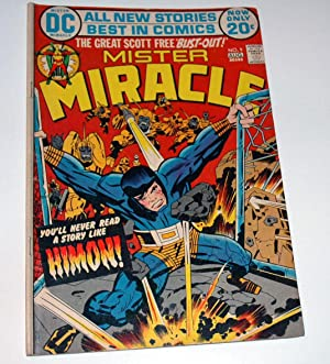 Mister Miracle #9 August 1972: Jack Kirby