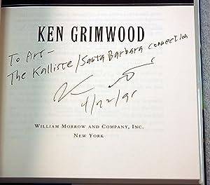 Into The Deep (Inscribed): Ken Grimwood