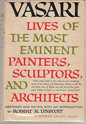 The Lives Of The Most Eminent Painters,: Vasari, Giorgio