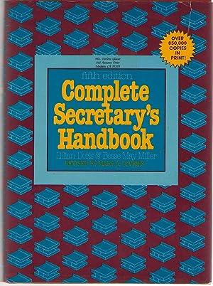 Complete Secretary's Handbook: Devries, Mary