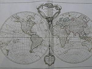 Atlas grand in folio cartes 76 x: Robert de Vaugondy