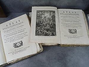 Bonne Desmarest Atlas Encyclopédique contenant la géographie: Bonne Desmarest