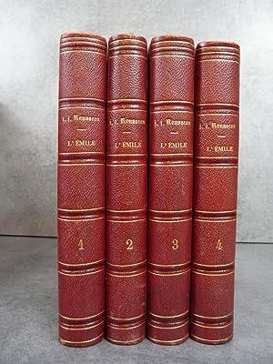 Emile ou de l'Education. Edition Très rare: Rousseau