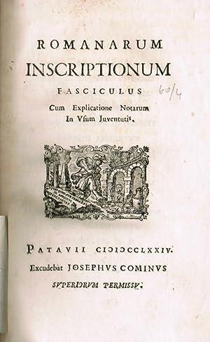 Institutione antiquario lapidaria osia Introduzione allo studio: Epigraphik - Zaccaria,