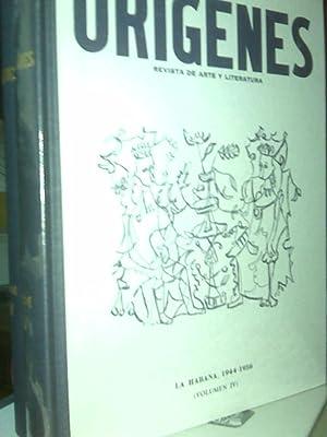 Orígenes Revista De Arte y Literatura. La: V.A.V.A.