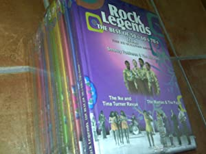 ROCK LEYENDS The Best of 50 s 60 s 70 s from the ED SULLIVAN SHOW 12 LIBROS + DVD