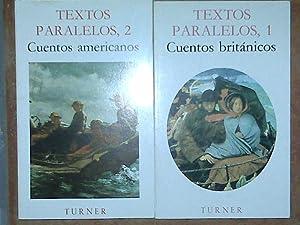 Textos Paralelos 2 Tomos. Cuentos Británicos / Cuentos Americanos.: V.A.V.A.