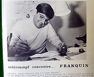 Schtroumpf-Les Cahiers de la Bande Dessinées. N°10. Spécial Franquin.