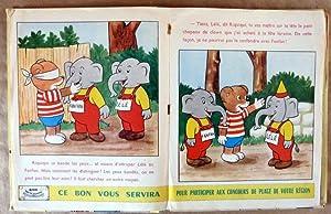 Riquiqui Les Belles Images. Reliure éditeur contenant les N° 182 à 190.: Moreu.