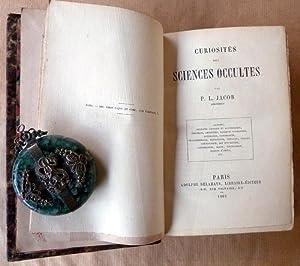 Curiosités des Sciences Occultes.: Jacob (P.L.; L. Lacroix)