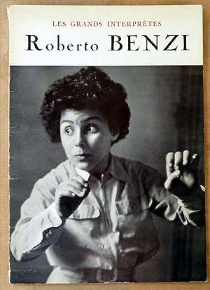 Roberto Benzi. Texte de B. Gavoty; portraits de Roger Hauert.: Gavoty (Bernard).