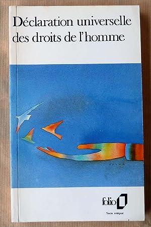 Déclaration Universelle des Droits de L'Homme.: Collectif.