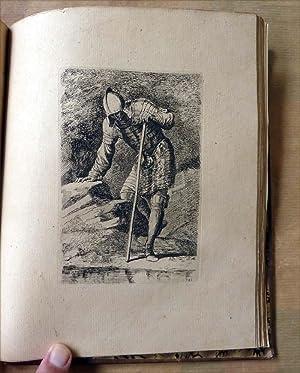 Un recueil de 60 épreuves à l'eau forte d'après Salvatore Rosa. Liber Primus. Liber ...