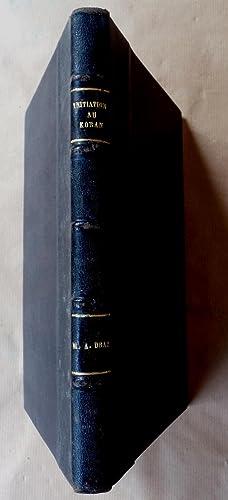 Initiation au Koran. Exposé historique, analytique et: Draz (Dr. M.