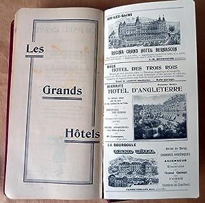 Guide Routier Continental offert gracieusement aux touristes en automobile. France Algérie ...