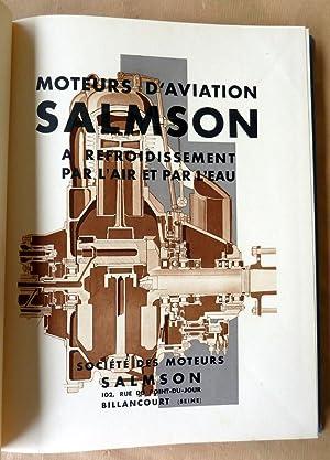 """Catalogue des """"Moteurs d'Aviation Salmson à refroidissement par l'air et par ..."""