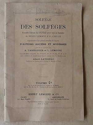 Solfège des Solfèges. Pour voix de soprano.: Lemoine (Henry), Carulli