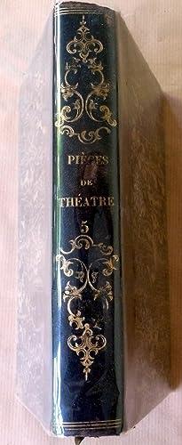 Recueil de pièces de théatre-vaudevilles, constitué vers 1830.