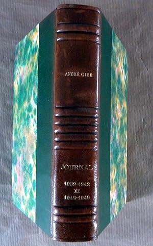 Journal 1939-1942suivi de Journal 1942-1949.: Gide 5andré).